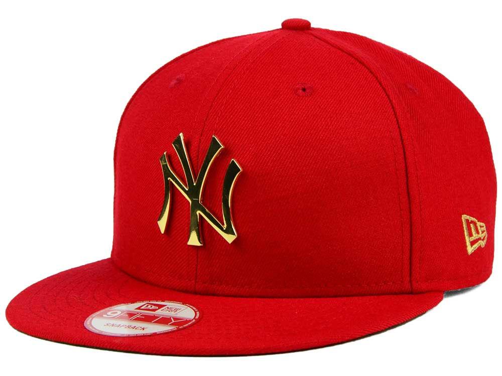 New York Yankees New Era MLB League O Gold 9FIFTY Snapback Cap ... 8f8004fb4