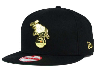Oakland Athletics New Era MLB League O'Gold 9FIFTY Snapback Cap