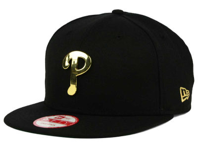 Philadelphia Phillies New Era MLB League O'Gold 9FIFTY Snapback Cap
