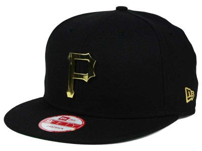 Pittsburgh Pirates New Era MLB League O'Gold 9FIFTY Snapback Cap