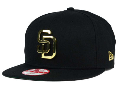 San Diego Padres New Era MLB League O'Gold 9FIFTY Snapback Cap
