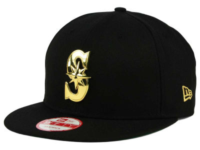 Seattle Mariners New Era MLB League O'Gold 9FIFTY Snapback Cap