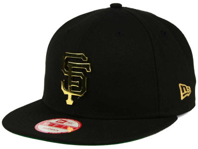 San Francisco Giants New Era MLB League O'Gold 9FIFTY Snapback Cap