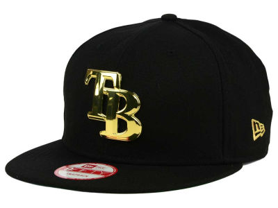 Tampa Bay Rays New Era MLB League O'Gold 9FIFTY Snapback Cap