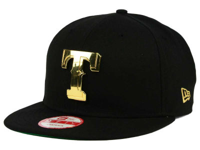 Texas Rangers New Era MLB League O'Gold 9FIFTY Snapback Cap