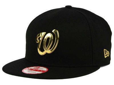 Washington Nationals New Era MLB League O'Gold 9FIFTY Snapback Cap