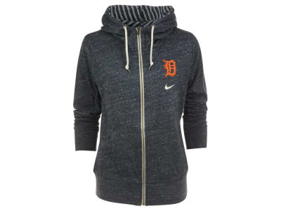 Detroit Tigers Nike MLB CN Women's Gym Vintage Full Zip Fleece