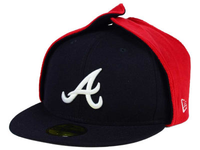 Atlanta Braves New Era MLB Team Dog Ear 59FIFTY Cap