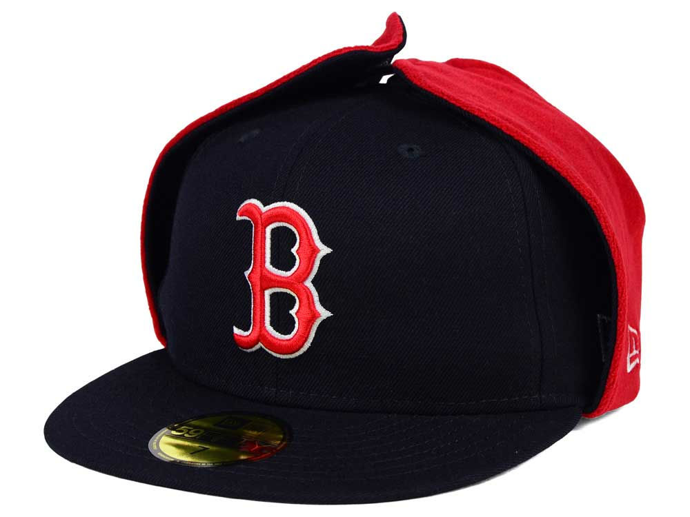 ffac7a12c53 Boston Red Sox New Era MLB Team Dog Ear 59FIFTY Cap