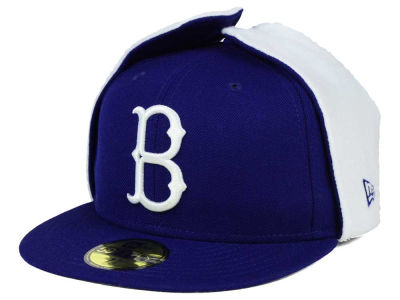 Brooklyn Dodgers New Era MLB Team Dog Ear 59FIFTY Cap