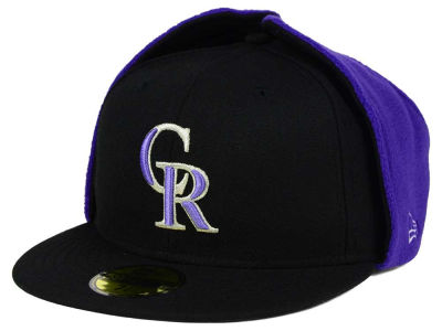 Colorado Rockies New Era MLB Team Dog Ear 59FIFTY Cap