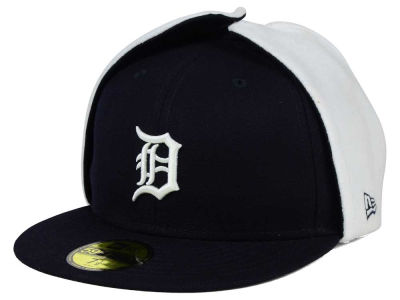 Detroit Tigers New Era MLB Team Dog Ear 59FIFTY Cap
