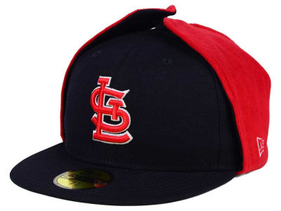 St. Louis Cardinals New Era MLB Team Dog Ear 59FIFTY Cap