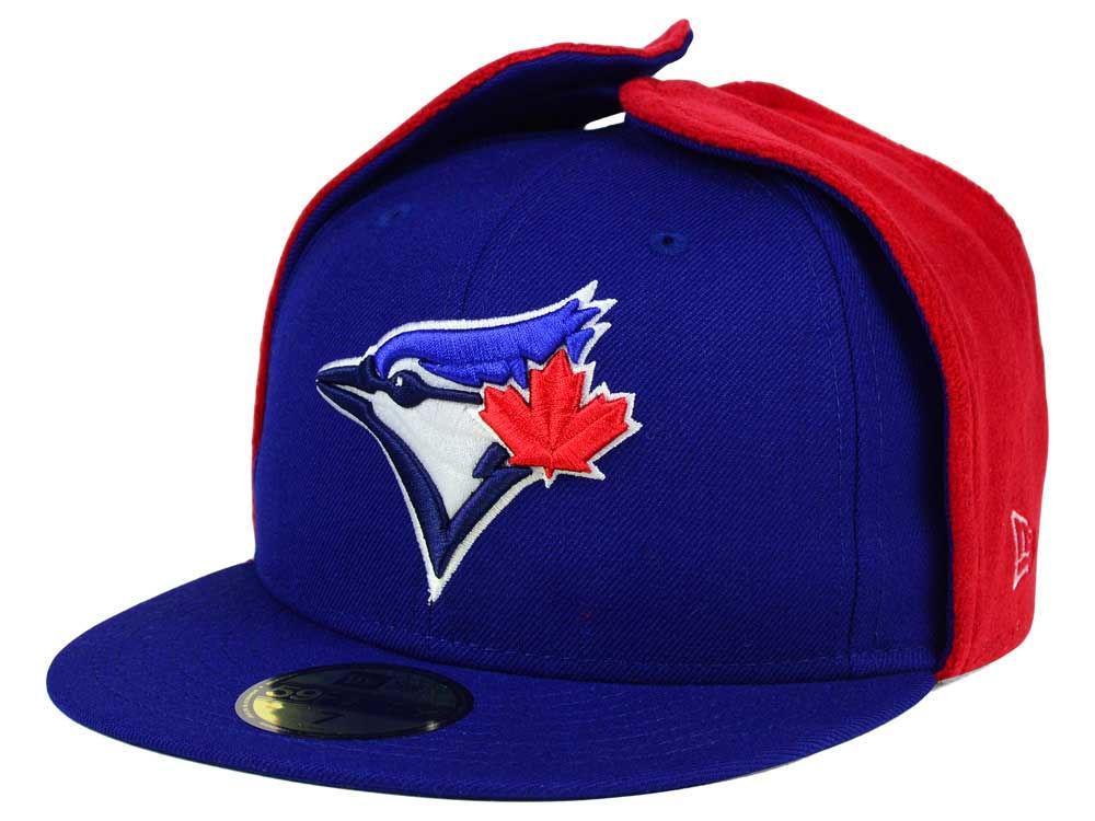 cc24b0f590e Toronto Blue Jays New Era MLB Team Dog Ear 59FIFTY Cap
