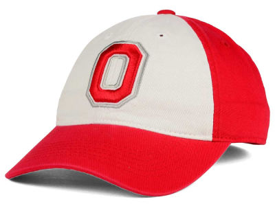 Ohio State Buckeyes J America NCAA Pressbox Easy Fitted Hat