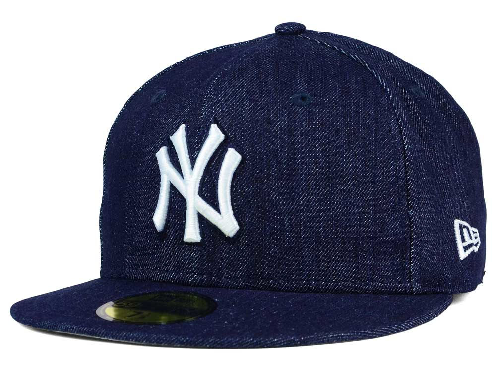 ef0abd0bafd New York Yankees New Era MLB Denim Dub 59FIFTY Cap