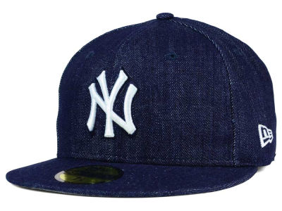 New York Yankees New Era MLB Denim Dub 59FIFTY Cap