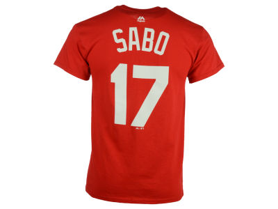 Cincinnati Reds Chris Sabo Majestic MLB Men's Cooperstown Player T-Shirt