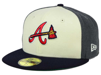 Atlanta Braves New Era MLB Classic Coop 59FIFTY Cap