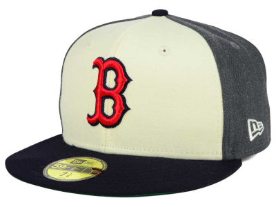 Boston Red Sox New Era MLB Classic Coop 59FIFTY Cap