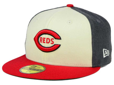 Cincinnati Reds New Era MLB Classic Coop 59FIFTY Cap