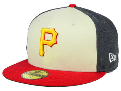 Pittsburgh Pirates New Era MLB Classic Coop 59FIFTY Cap