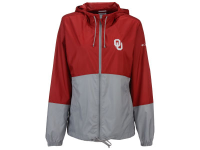 Oklahoma Sooners Columbia NCAA Women's Flash Forward Windbreaker Jacket