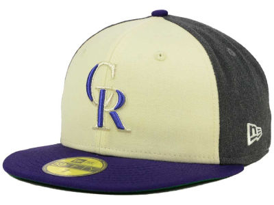 Colorado Rockies New Era MLB Classic Coop 59FIFTY Cap