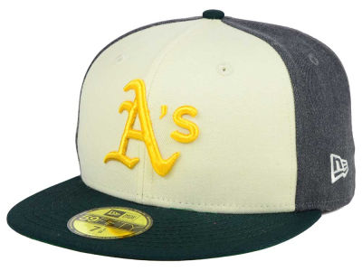 Oakland Athletics New Era MLB Classic Coop 59FIFTY Cap