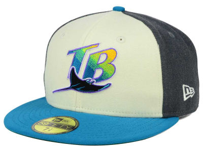 Tampa Bay Rays New Era MLB Classic Coop 59FIFTY Cap