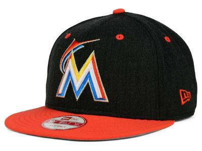 Miami Marlins New Era MLB Hometown Series Miami 9FIFTY Snapback Cap