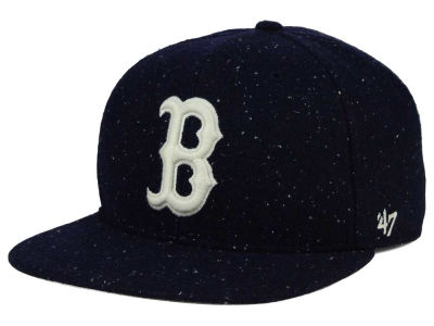 Boston Red Sox '47 MLB Hailstorm Snapback Cap