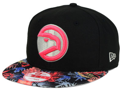 Atlanta Hawks New Era NBA HWC Fall Floral 9FIFTY Snapback Cap