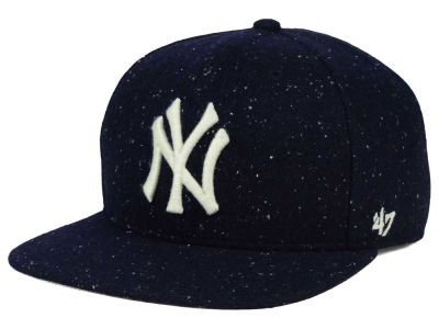 New York Yankees '47 MLB Hailstorm Snapback Cap
