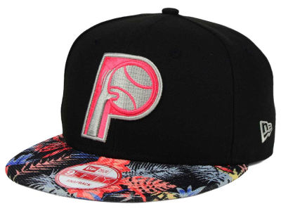 Indiana Pacers New Era NBA HWC Fall Floral 9FIFTY Snapback Cap