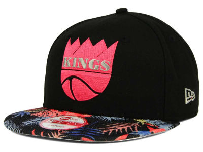Sacramento Kings New Era NBA HWC Fall Floral 9FIFTY Snapback Cap
