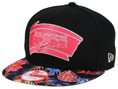 San Antonio Spurs New Era NBA HWC Fall Floral 9FIFTY Snapback Cap