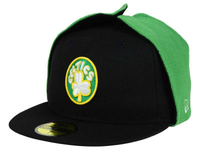 Boston Celtics New Era NBA HWC Team Dog Ear 59FIFTY Cap