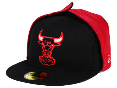 Chicago Bulls New Era NBA HWC Team Dog Ear 59FIFTY Cap