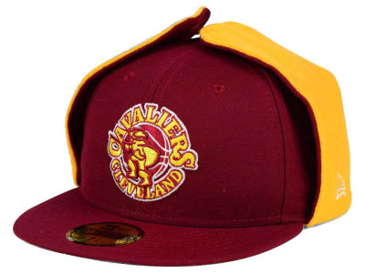Cleveland Cavaliers New Era NBA HWC Team Dog Ear 59FIFTY Cap