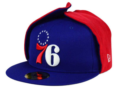 Philadelphia 76ers New Era NBA HWC Team Dog Ear 59FIFTY Cap