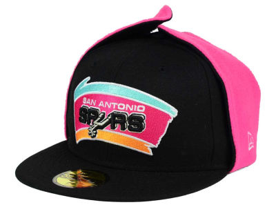 San Antonio Spurs New Era NBA HWC Team Dog Ear 59FIFTY Cap