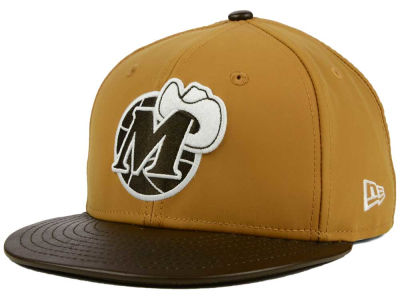 Dallas Mavericks New Era NBA HWC Suedebuck 9FIFTY Snapback Cap