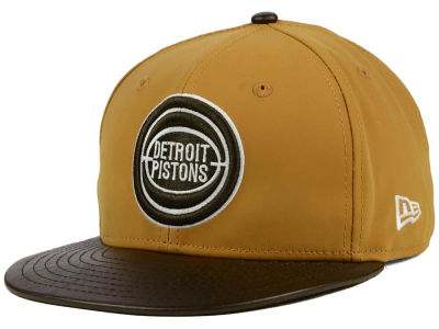 Detroit Pistons New Era NBA HWC Suedebuck 9FIFTY Snapback Cap