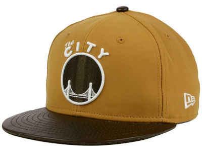 Golden State Warriors New Era NBA HWC Suedebuck 9FIFTY Snapback Cap