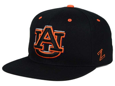 Auburn Tigers Zephyr NCAA Triple Black Snapback Hat