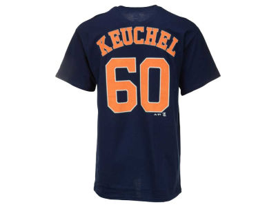 Houston Astros Dallas Keuchel Majestic MLB Men's Official Player T-Shirt