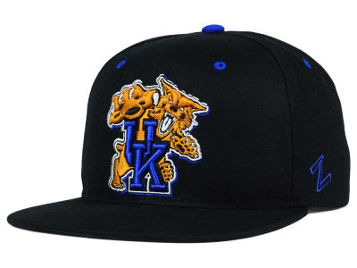 Kentucky Wildcats Zephyr NCAA Triple Black Snapback Hat