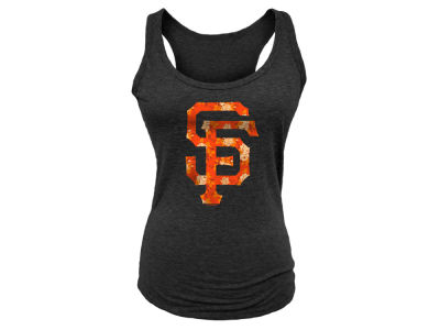 San Francisco Giants 5th & Ocean MLB Women's Floral Racer Tank Top