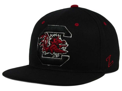 South Carolina Gamecocks Zephyr NCAA Triple Black Snapback Hat
